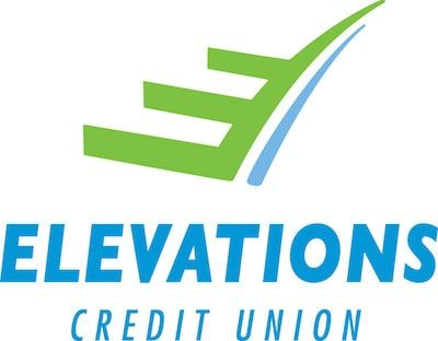 Elevations Credit Union logo - Links to website