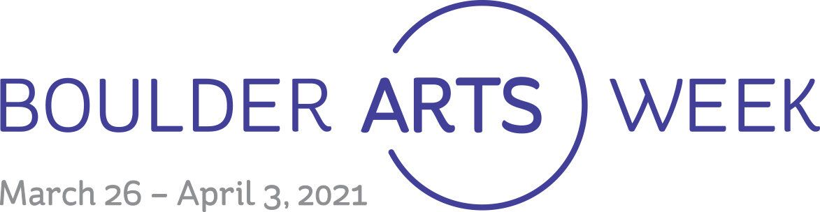 Boulder Arts Week logo - Links to website