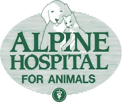 Alpine Hospital for Animals logo - Links to website